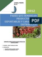 Final Paises Que Demandan Productos Agroexportables