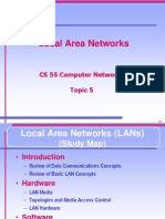 CS 55 - Local Area Networks