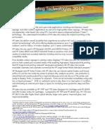 HP Latex Printing Technologies Backgrounder US