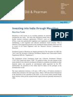 158 10-07-09 Investing Into India Through Mauritius