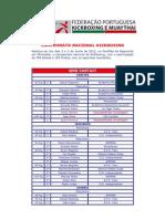 Resultados - Campeonato Nacional de Kickboxing Em Mirandela 2 e 3 de Junho de 2012