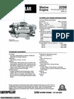 CAT 3208 Mrine Engine Specification