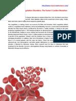 Inherited Hypercoagulation Disorders