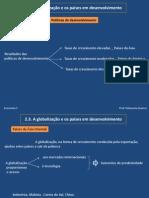 Globalização _ Políticas de desenvolvimento