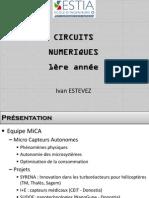 Cours Circuits Num 1annee Partie1