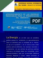 Energias Renovables en Venezuela