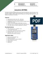 27982-433 MHzRFTransceiver-v1.0