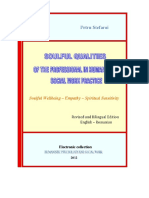eBook - Spiritual Qualities of the Professional in Humanistic Social Work Practice, Petru Stefaroi, Bilingual Edition (English - Romanian)