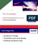 ITIL V3 Foundation