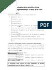 1re Primitives de Fonctions Trigonometriques