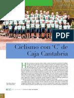 "CICLISMO CON ""C"" DE CAJA CANTABRIA.  LRV 142"