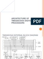 Architecture of TMS320C54XX Digital Signal Processors