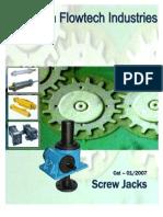 Simranflowtech Catalogue Screw Jack Detailed