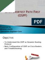 OSPF Presentation