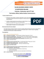 Controlling Business Energy Costs in Northern Ireland