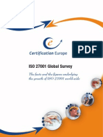 Certification Europe ISO27001 Global Survey