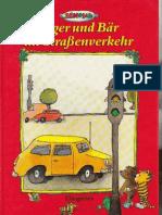 Janosch-Tiger und Bär im Strassenverkehr