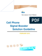 Cell Phone Signal Booster Solution Ver2.02