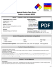 MSDS of Sodium Cyclamate