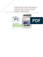 Data Warehousing and Business Intelligence for Plantation Companies