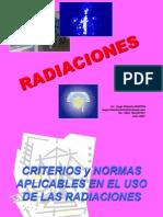 HUGO MARTIN ATOMICA CORDOBA NORMAS Y CRITERIOS SOBRE RADIACIONES
