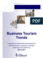 Business Tourism Trends - Scotland