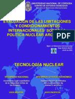 HUGO MARTIN ATOMICA CORDOBA EVALUACION DE LA POLITICA NUCLEAR ARGENTINA
