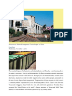 Advances in Waste Management Technologies in China