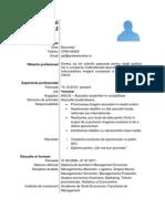4Model de CV Proaspat Absolvent