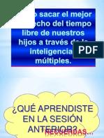 Escuela de Padres Aprovechamiento Del Tiempo Libre Margarita Martinez