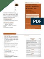 Folheto PhD DCT 2012
