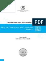 2. ODEC (Primero básico) Comun. y Leng. L3 inglés
