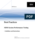 MDMS-PerformanceTesting