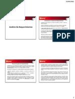 UNIDAD II - Análisis De Requerimientos