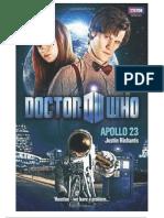 Doctor Who_ Apollo 23 - Justin Richards