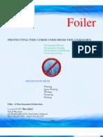 Foiler Brochure