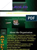 Goutam Biswas's Presentation_AutoLib_Library Automation Software