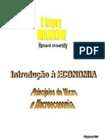 Introdução a economia resumo