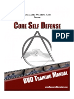 Core Self Defense DVD Training Manual