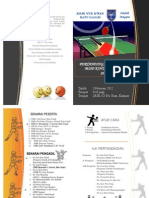 Buku Program Pertandingan Ping Pong 2012