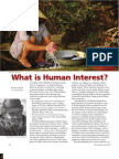 What Human Interest