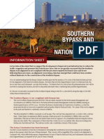 Southern Bypass impact on Nairobi National Park