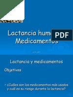 13 Lactancia Humana y Medicamentos
