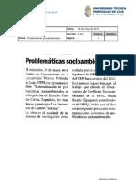 Informe de prensa del 1 al 8 de junio de 2012