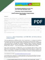 Compte-Rendu Et Conclusions FAME-Eau Et Extractivisme v2-1