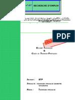 M17-Recherche d'Emploi BTP-TSGT
