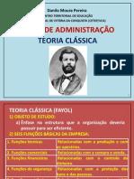 Teo Classica - Fayol - Comercio