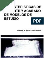 Recorte y Acabado de Modelos de Estudio.