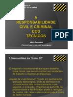 Responsabilidade Civil e Criminal dos TSTs
