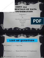 Fundamentals of Data and Information